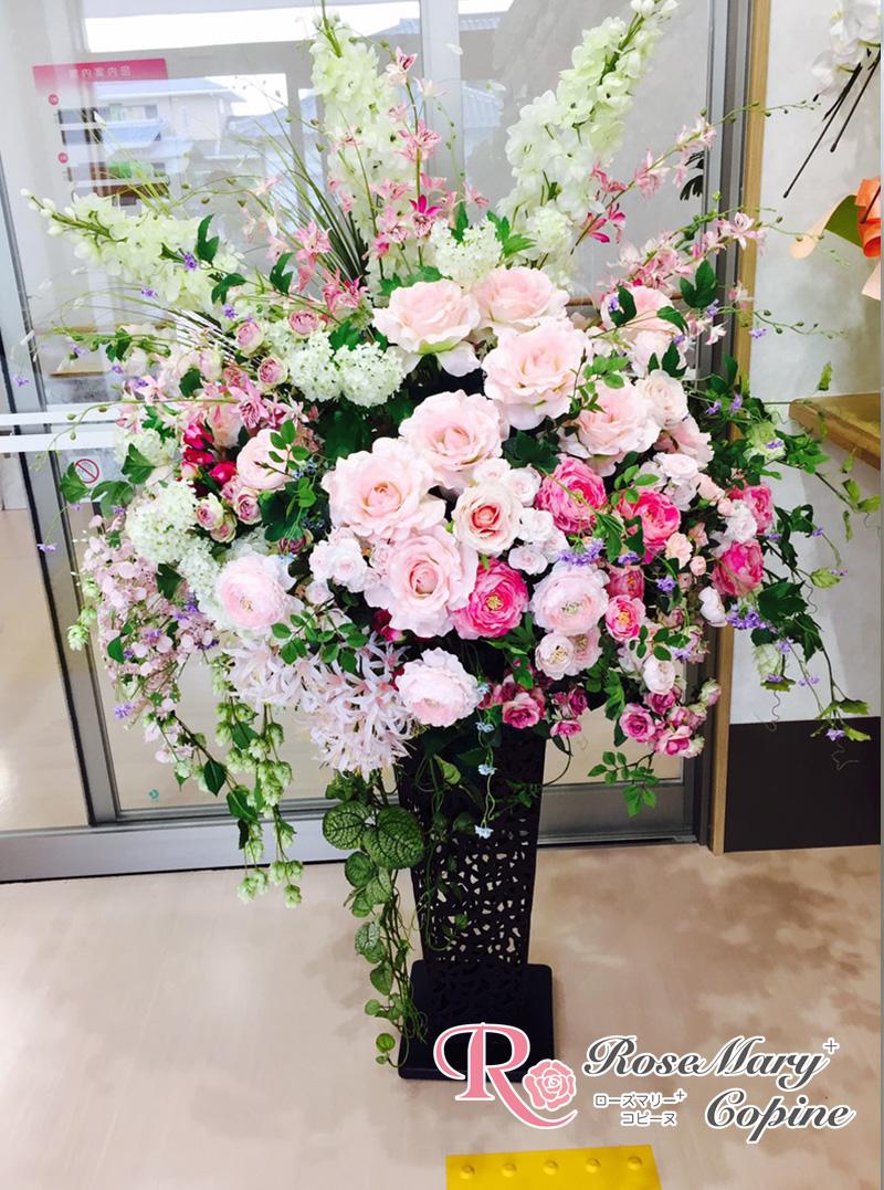 高級造花 アーティフィシャルフラワー アーティシャルフラワー お祝い 新築祝い 開院祝い 開店祝い ギフト プレゼント オーダー