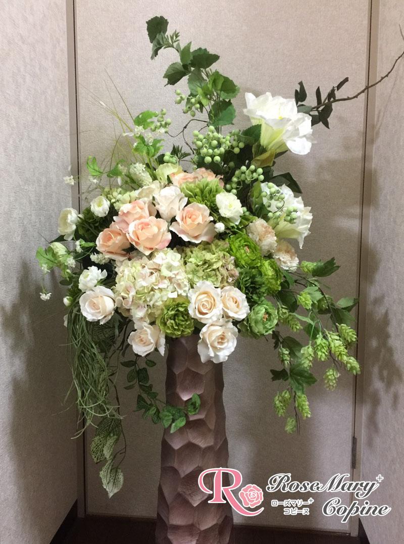 高級造花 アーティフィシャルフラワー アーティシャル フラワー 花 開院祝い 開店祝い ギフト プレゼント オーダー