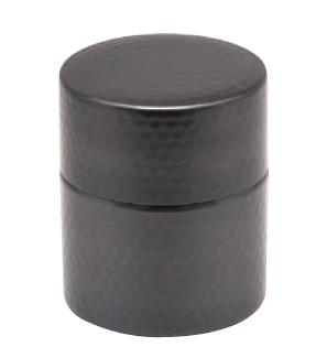 茶筒 小 銅 黒銅仕上げ COPPER100 送料無料 新光堂 2020A/W新作送料無料 高価値 新光金属