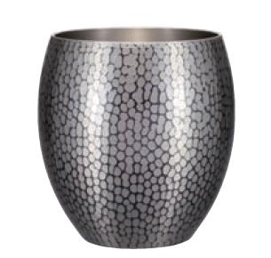 手打ち焼酎カップ(大) 銅 錫被仕上げ 純銅鎚目焼酎カップ 新光堂 COPPER100 新光金属