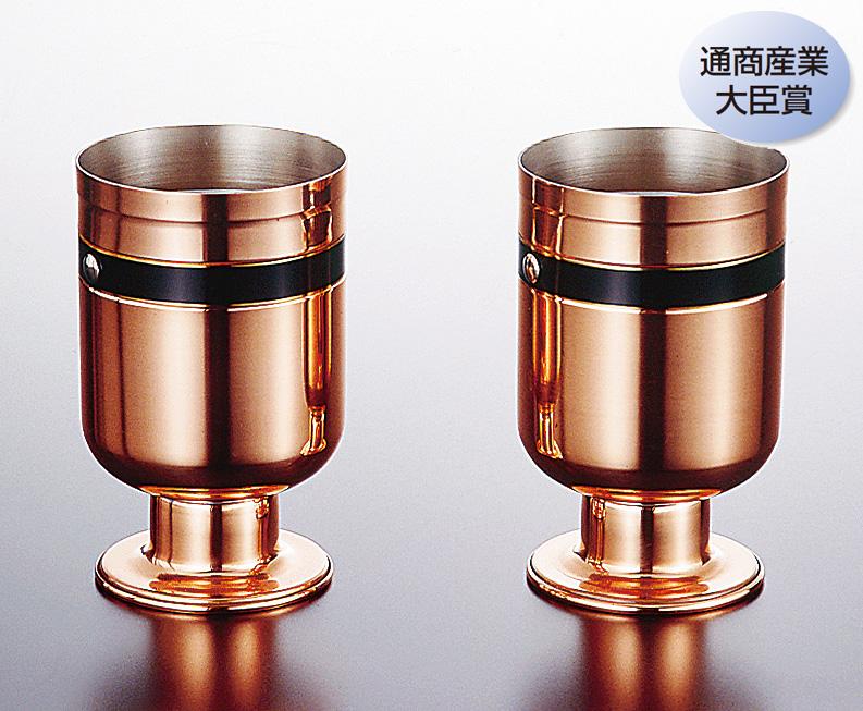 ゴブレット 銅 安心の定価販売 販売期間 限定のお得なタイムセール バビロアゴブレット 大 2pcsセット 新光金属 送料無料 COPPER100