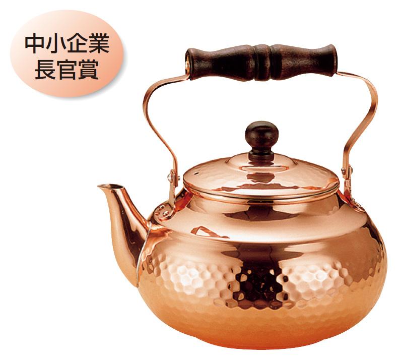 ケトル 湯沸し やかん 銅 2リットル 送料無料 COPPER100 新光金属