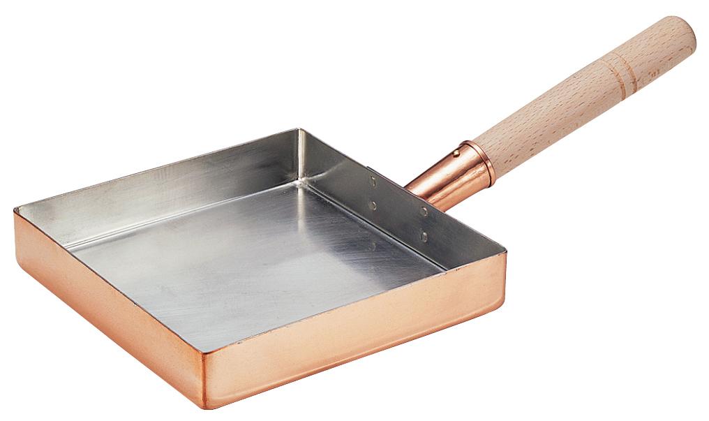 玉子焼き 卵焼き 銅 関東型 21cm 期間限定 人気 COPPER100 送料無料 新光堂 新光金属