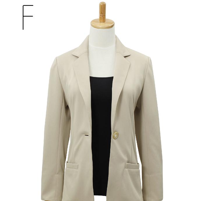 Tailored jacket (Office / suits / long sleeve / knit / coat thing / washable jacket)