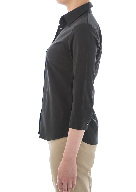 cor | Rakuten Global Market: Shirt blouse / 7 sleeves stretch ...