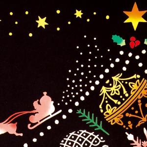 のレンは取扱い手ぬぐい約600種類 ソリ リース 結晶 黒 人気 雪だるま てぬぐい 手拭い 和 和雑貨 和柄 かわいい おしゃれ ギフト 贈り物 敬老の日 12月 タオル 特岡 豊富な品 サンタクロース トナカイ メール便可 在庫あり Ornament 日本製 気音間 クリスマスツリー 綿100% Tree 注染 手ぬぐい kenema