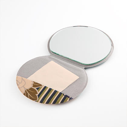noren kyoto gion retro flower stand mirror compact mirrors stand