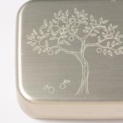 纸莎草纸便当盒黄金树 (午餐盒金树) fs04gm