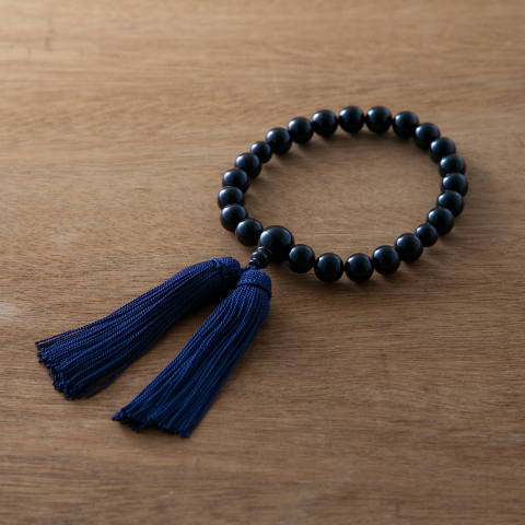 お念珠 夜  数珠 男性用 お数珠 お念珠 天然石 juzu 略式数珠 片手数珠 おしゃれ【母の日】