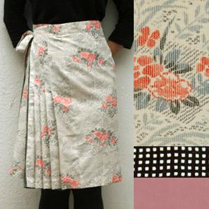 【送料無料】Wrap Around R. わおりスカート18000-11【すてきにハンドメイド】【Eテレ】【母の日】