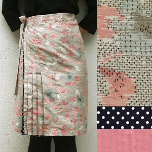 【送料無料】Wrap Around R. わおりスカート18000-13【すてきにハンドメイド】【Eテレ】【母の日】