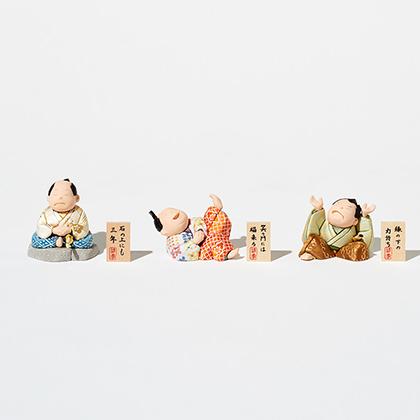 休み 付与 ことわざをユニークに表現した侍の江戸木目込人形です かわいい 贈り物 ギフト 母の日 父の日 敬老の日 記念日 贈答 日本土産 手作り 人形 松崎人形 江戸木目込 東京手仕事 侍 和雑貨 ことわざさむらい 在庫限り
