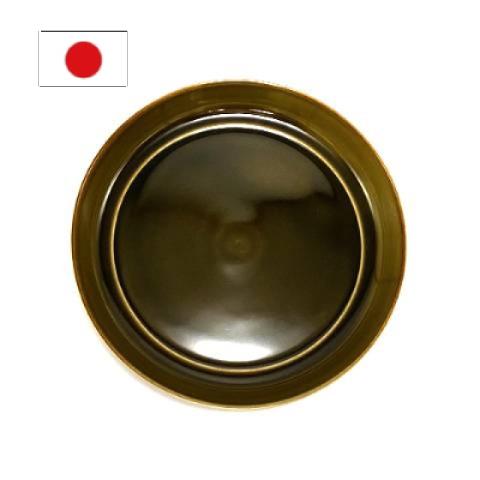 一度焼かれると1000年経っても自然に還らず残ってしまう焼き物をリサイクルしようと生まれた器です プレゼント ギフト 贈り物 贈答 お祝い 新生活 引越し祝い 結婚祝い TRIP WARE プレート175 新生活 緑釉 盛皿 便利 おしゃれ リサイクル 母の日 シンプル セール特価 お皿 再生 食器 プレート 陶器 エコ 美濃焼