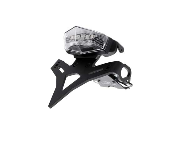 Evotech Performance Yamaha MT-09 Sport Tracker ABS フェンダーレス(ナンバープレートホルダー)キット 2015 - 2016 (Clear リアライト)