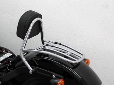 Fehling: ドライバー シーシーバー ラゲッジキャリア付 for HD Softail Blackline