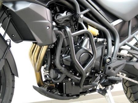 Fehling: オフロード プロテクションガード ブラック for Triumph Tiger 800