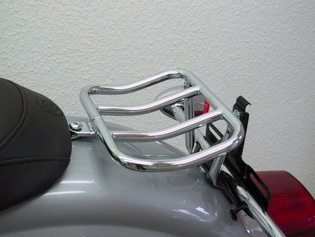 Fehling: リアラック ブラック for HD Dyna Glide Sport Black