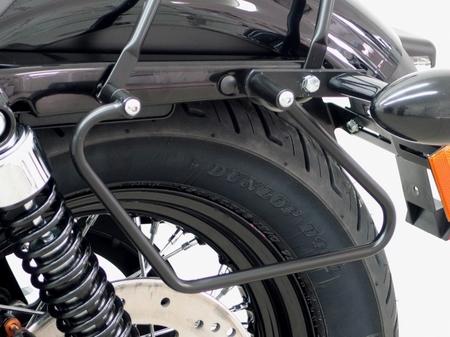 Fehling: バゲージホルダー ブラック for HD Sportster Evo Black