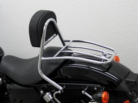 Fehling: ドライバー シーシーバー ラゲッジキャリア付 for HD Sportster Evo