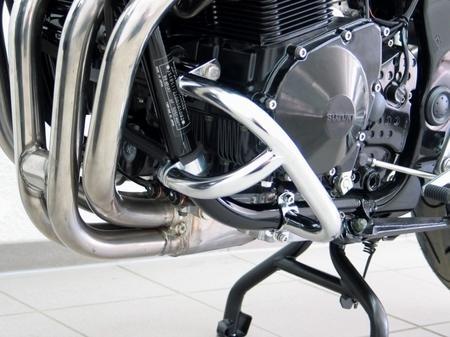 Fehling: エンジンガード ブラック for Suzuki GSF 650 Bandit schwarz