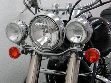 Fehling: ライトバー 後付ヘッドライト用 for Kawasaki VN 900 Classic