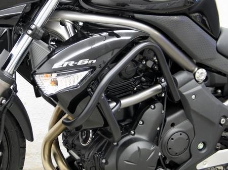 Fehling: エンジンガード ブラック for Kawasaki ER 6n(09-)