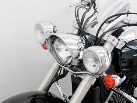 Fehling: ライトバー 後付ヘッドライト用 for Suzuki Intruder M800