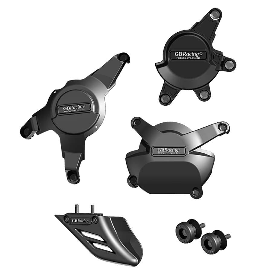 GBRacing: HONDA CBR1000RR (2008-2015) 競技車両 モーターサイクルプロテクションフルセット | CP-CBR1000-2008-CS-K-GBR