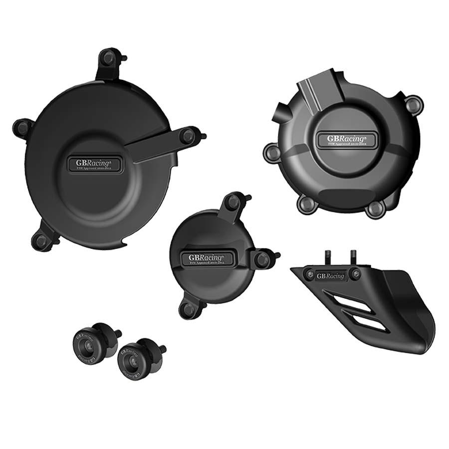 GBRacing SUZUKI GSX-R600(2006-2016)/GSX-R750(2006-2016)/GSX-R600/750R(2011-2016) クラッシュプロテクションフルセット | CP-GSXR600-K6-CS-GBR