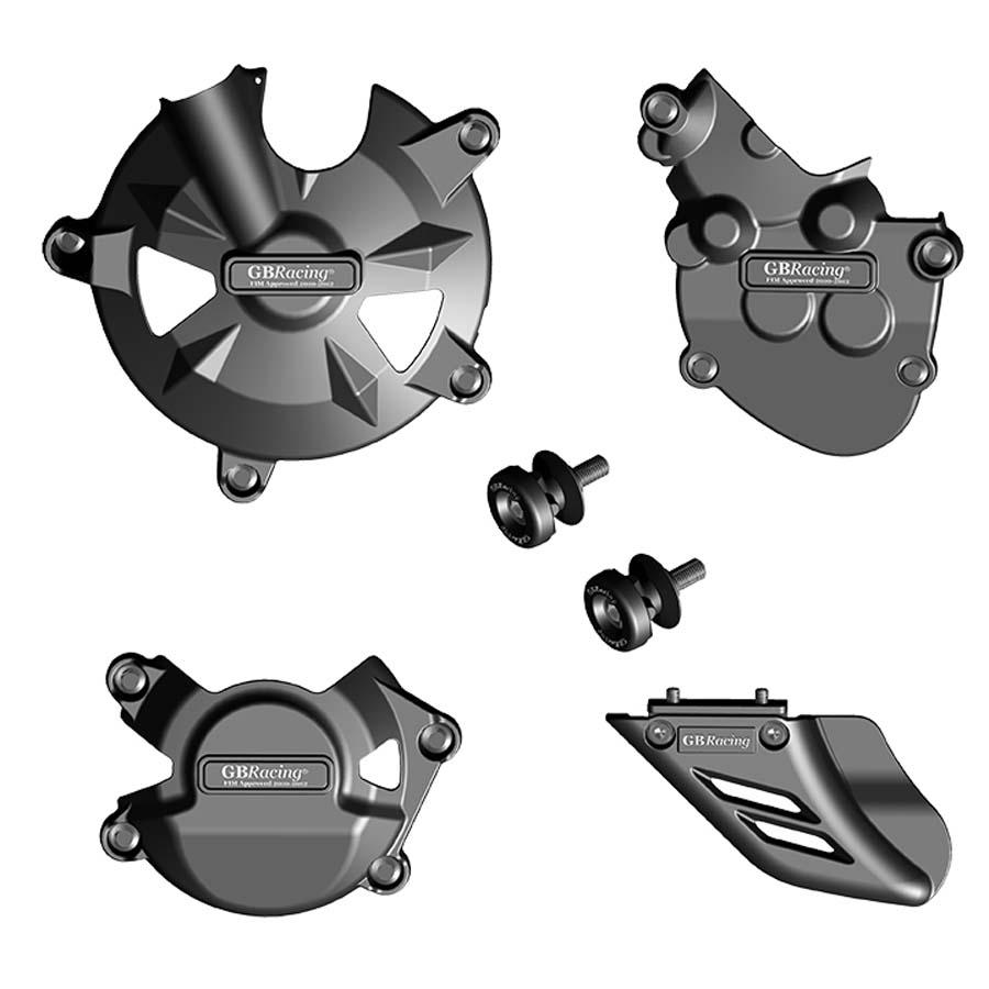 GBRacing Kawasaki ZX-10R (2008-2010) モーターサイクルプロテクションフルセット   CP-ZX10-2008-CS-GBR