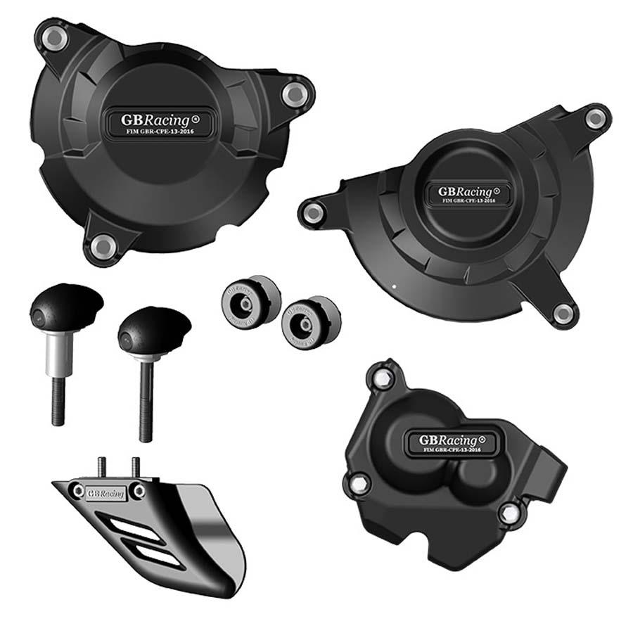 GBRacing Kawasaki ZX-10R (2011-2018) モーターサイクルプロテクションフルセット | CP-ZX10-2011-CS-GBR