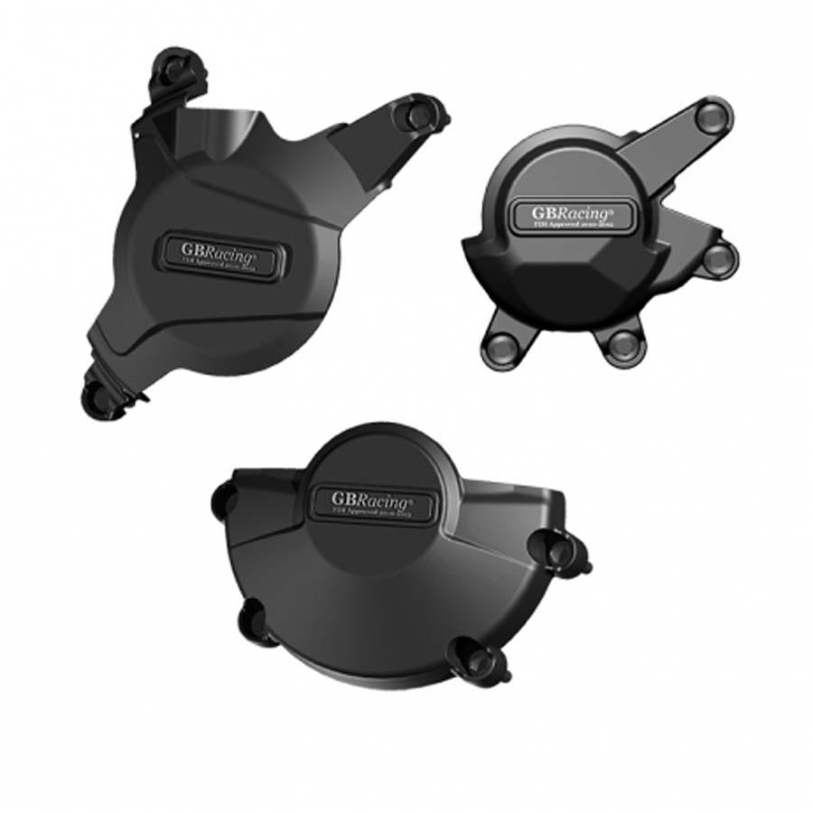 GBRacing: HONDA CBR600RR (2007-2014) 競技車両 エンジンカバーセット | EC-CBR600-2008-SET-K-GBR