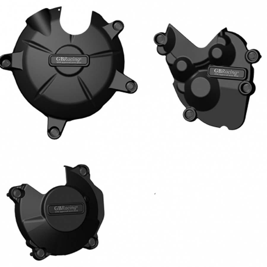 GBRacing Kawasaki ZX-6R (2009-2012) エンジンカバーセット | EC-ZX6-2009-SET-GBR
