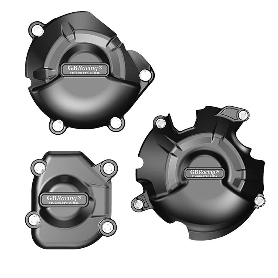 GBRacing Kawasaki Z800/E (2013-2016) エンジンカバーセット | EC-Z800-2013-SET-GBR