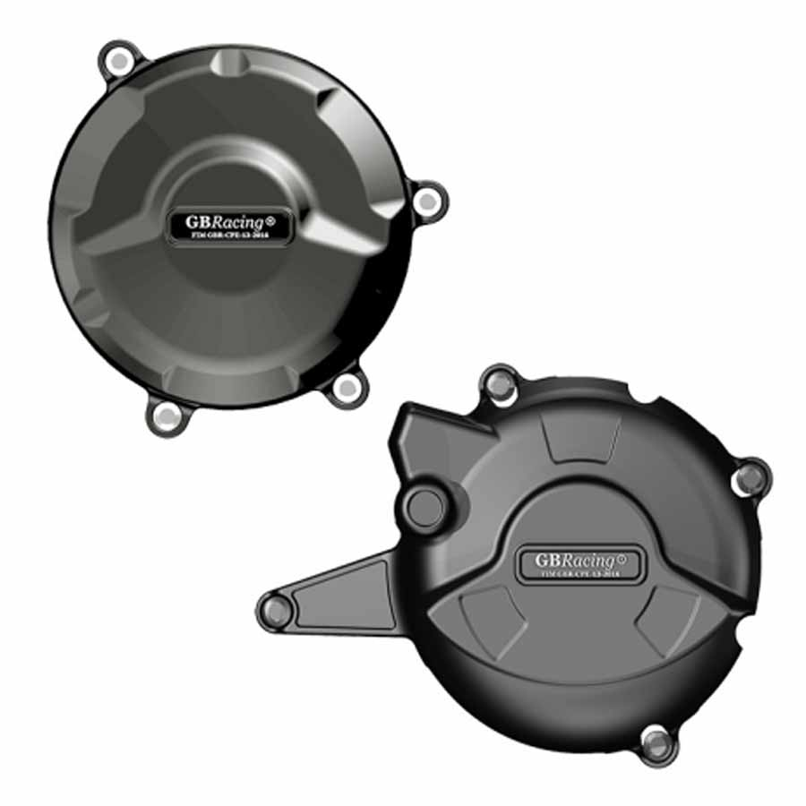 GBRacing DUCATI 【競技車両のみ 959 Panigale(2016)】 エンジンカバーセット | EC-959-2016-SET-GBR