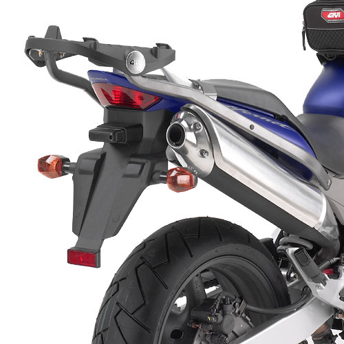 GIVI: CB 600 F HORNET (03--06), Monorack arms for Topcase (grey--silver)
