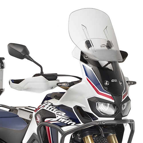 GIVI: HONDA CRF1000L Africa Twin スライディングスクリーン Airflow クリア | AF1144