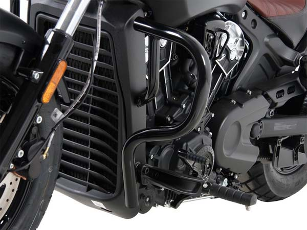 Hepco&Becker エンジンプロテクションバー ブラック Indian Scout Bobber from 2017 | 5017568 00 01