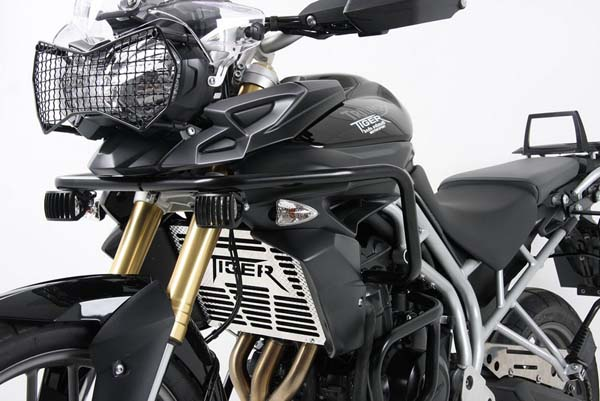 Hepco&Becker タンクガード ブラック Triumph Tiger 800 / XC until 2014 | 5027505 00 01