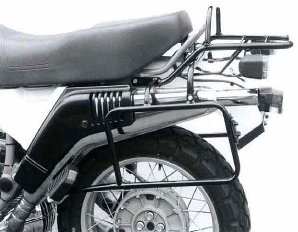 Hepco&Becker チューブトップケースキャリア ブラック BMW R 65 G/S from 1988-R 80 G/S from 1987 | 650611 01 01