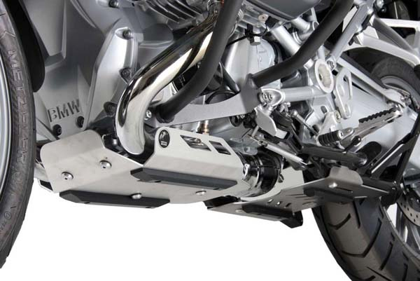 Hepco&Becker エンジンアンダーガード(ベリーパン) シルバー BMW R 1200 GS LC from 2013 | 810665 00 09