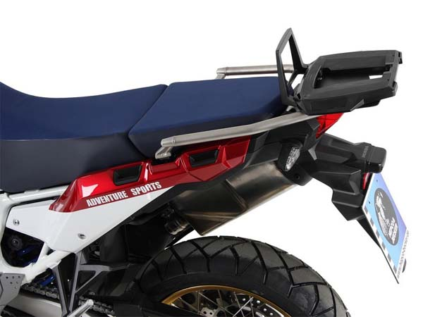 Hepco&Becker トップケースキャリア AluRack ブラック Honda CRF1000L Africa Twin Adventure Sports from 2018 | 6559510 01 01