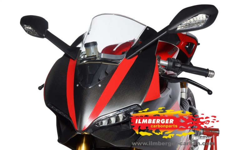 ILMBERGER: Ducati 1199 Panigale ストリートアッパーカウル