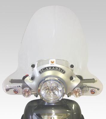 ISOTTA: APRILIA スクーター Scarabeo 125-150-200 - ウインドシールド - エコノミック