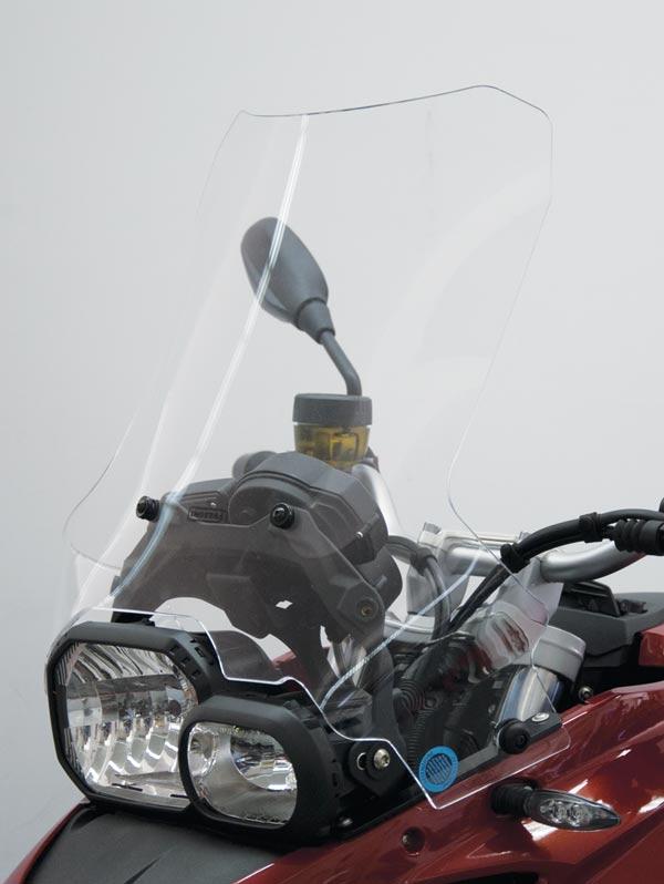 ISOTTA: BMW F700GS ハイプロテクション ウインドシールド