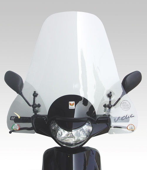 ISOTTA: PEUGEOT V-Clic 50-125 '2008 - ウインドシールド - ワイド