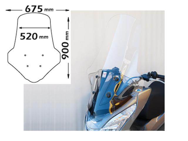 ISOTTA:HONDA PCX スクーター PCX 125-150 2014- 2014- 付属) ハイ・ウインドシールド クリア(取付パーツ 付属), お肉屋のふじ子ちゃん:9f8308df --- officewill.xsrv.jp