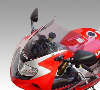 ISOTTA: SUZUKI GSX-R 600-750-1000 '01-03 - ウインドシールド - ダブル バブル