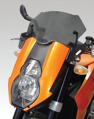 ISOTTA: KTM 990 Superduke/R - ウインドシールド - サマー
