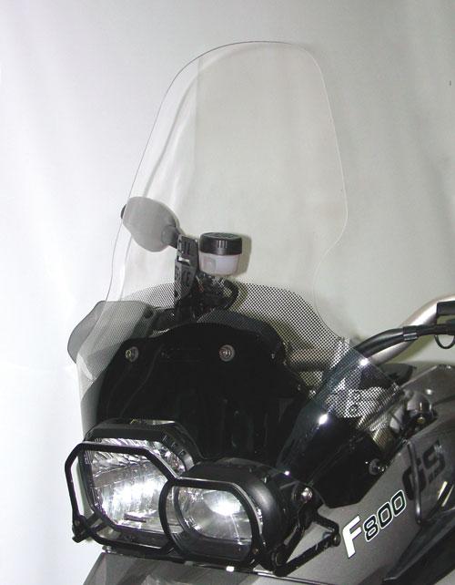 ISOTTA: BMW F 650-800 GS '2008 - ウインドシールド - オリジナル(ハンドガード取り付け可能)